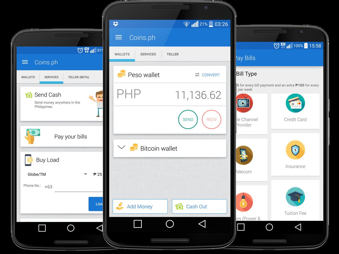 coins.ph mobile app